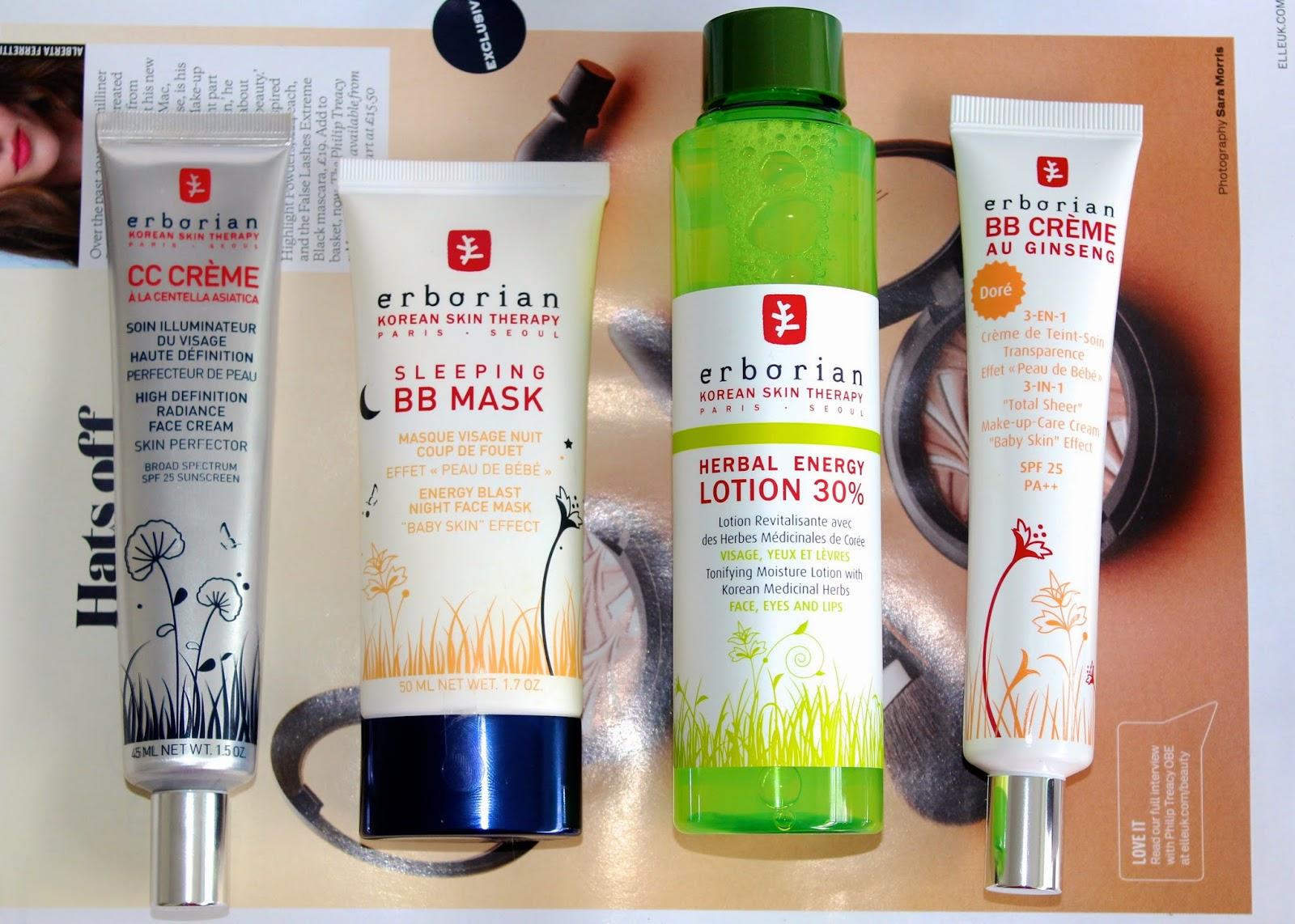Erborian skincare review - including the original BB creme