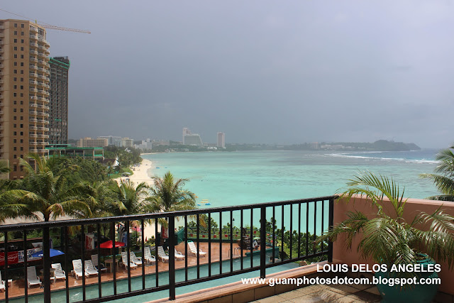 A view of the bay at Guam Reef Hotel
