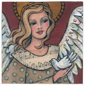 Mixed Media Angel Paintings