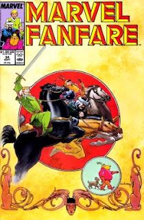 Imagen de Marvel Fanfare 34