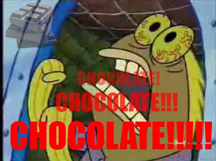 CHOCOLATE spongebob