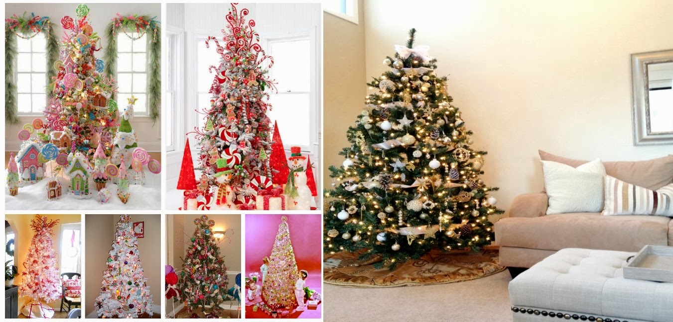 Christmas Tree Decorating Ideas Photos