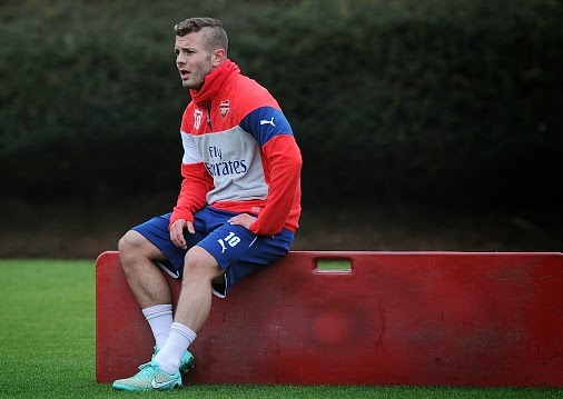 Jack Wilshere doubtful for Monaco game