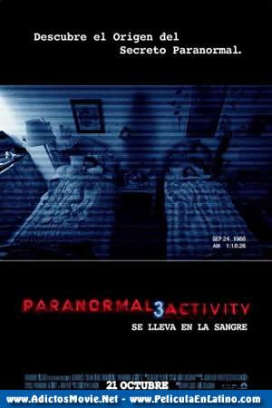 Actividad Paranormal 3 DVDRip Español Latino 2011 1 Link