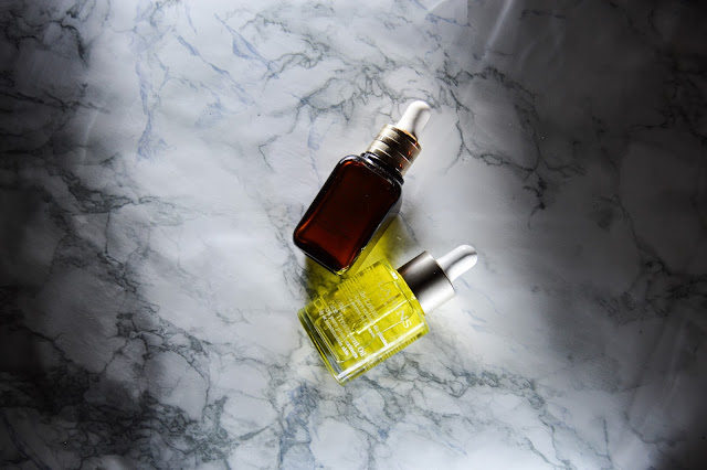 Clarins Lotus Oil and Estee Lauder Advanced Night Repair Review Oily Skin