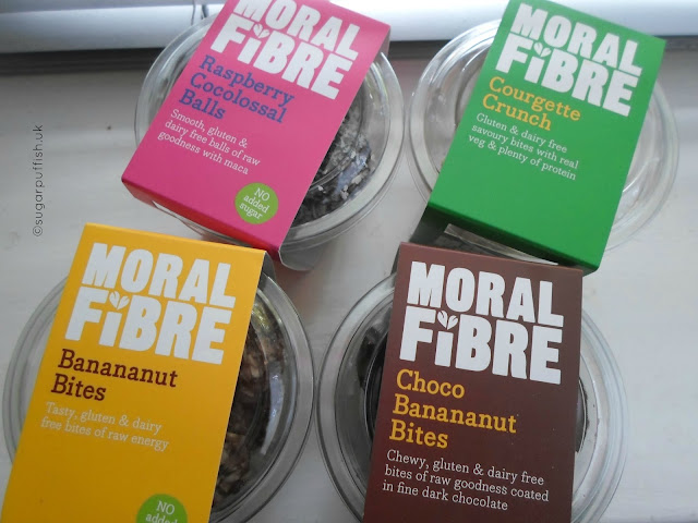 Review Moral Fibre handmade bites 100% natural, gluten & dairy free