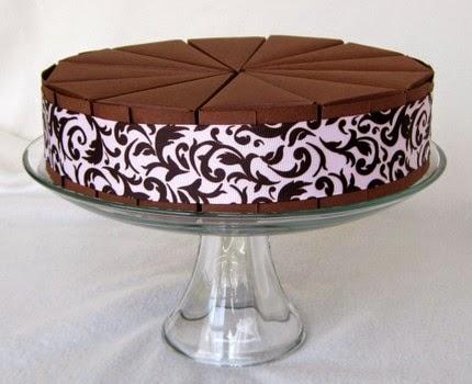 Caja para pastel, tarta, torta o bizcocho de cajas