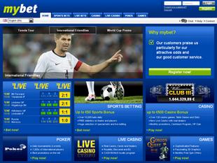 MyBet Screen