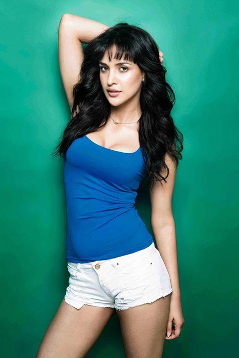 Aisha Sharma was first roped to play one of the heroines opposite Naga Chaitanya in Majnu, remake of Premam. Hot Aisha Sharma, Hot and Beautiful Aisha Sharma