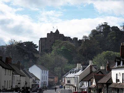 Dunster town and castle Somerset England
