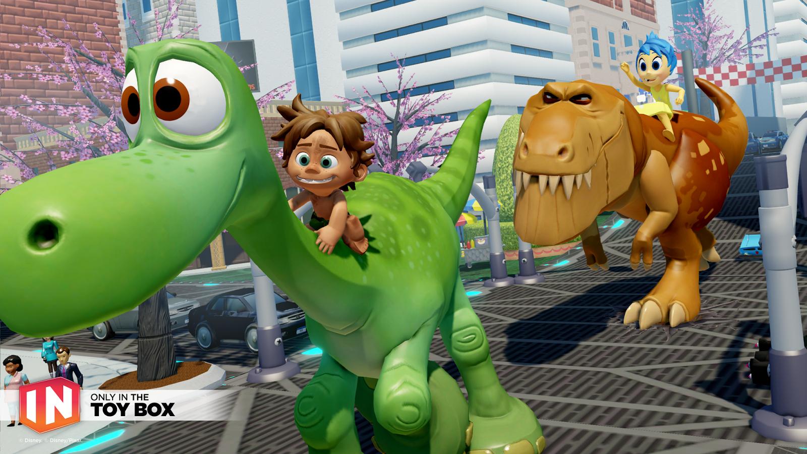 The Good Dinosaur In Disney Infinity 3 0 Spot Amp Power