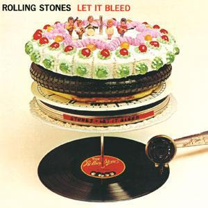 Rolling Stones Let It Bleed album cover