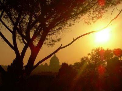 Sabato 8 marzo h 16.00 Roma al Tramonto visita guidata  Il colle dell'Aventino nei colori del crepuscolo
