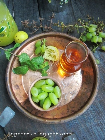 Grapes Nannari Syrup Soda