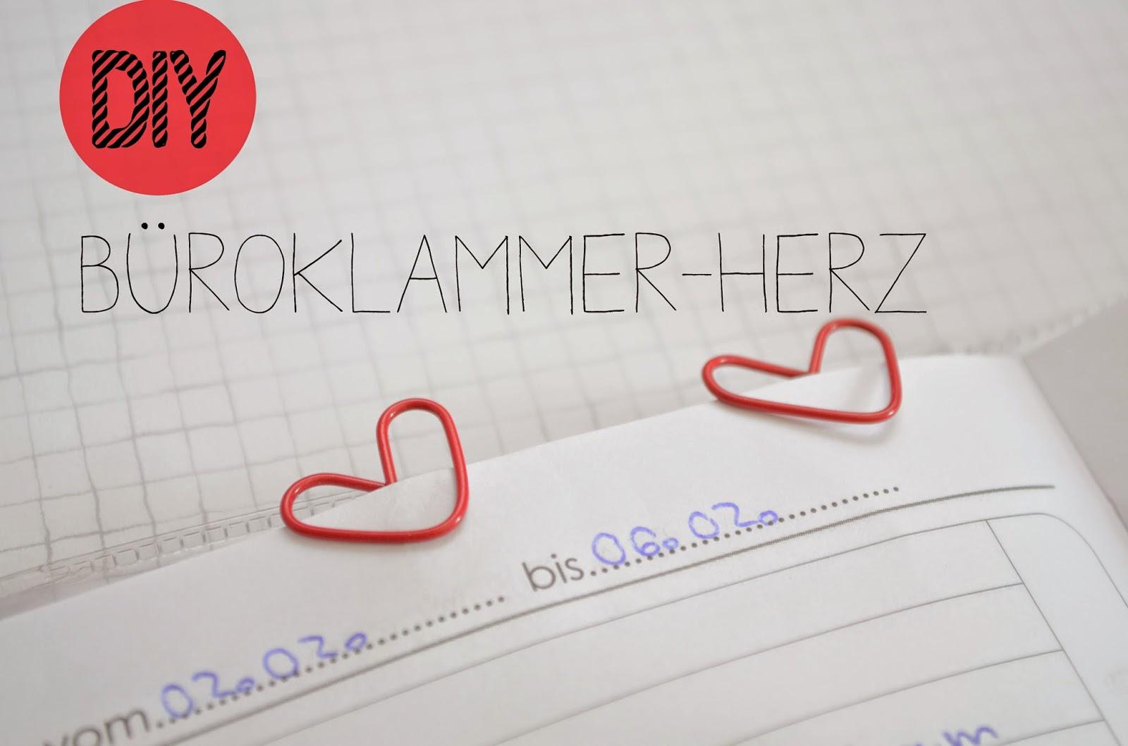 True Love Diy Buroklammer Herz