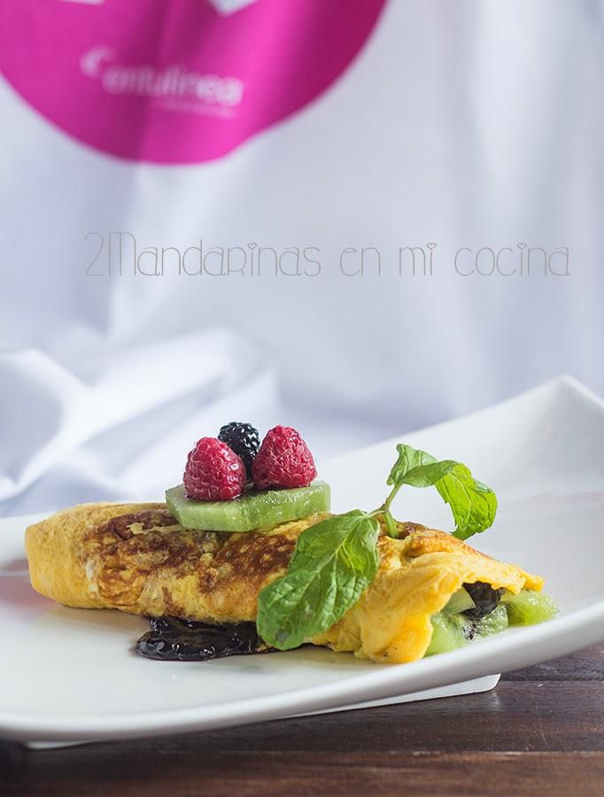 Crêpes dulces con frutas y mermelada light. #bienvenidayo