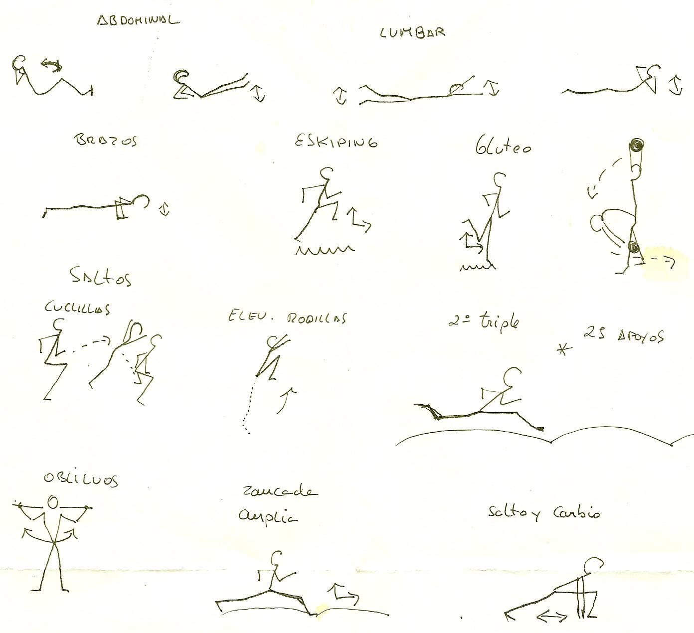 Ejercicios de gimnasia imagui for Ejercicios de gimnasia
