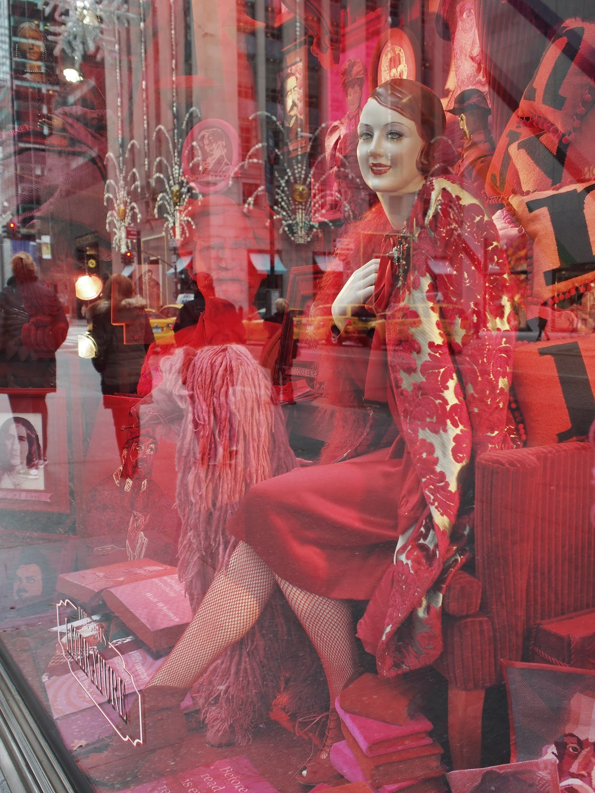 Fishnets #Fishnets #bgwindows # #holidaywindows #5thavenuewindows #NYC  #holidays #besttimeoftheyear #nyc ©2014 Nancy Lundebjerg