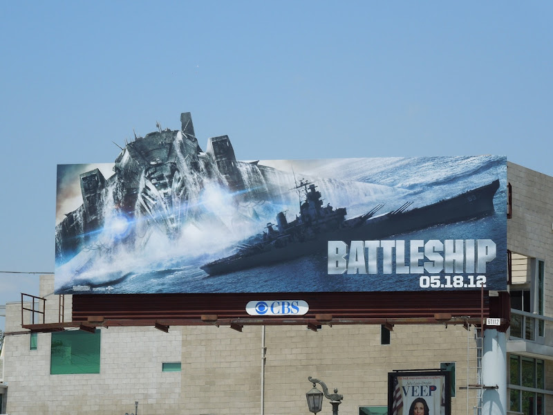 Battleship special extension movie billboard