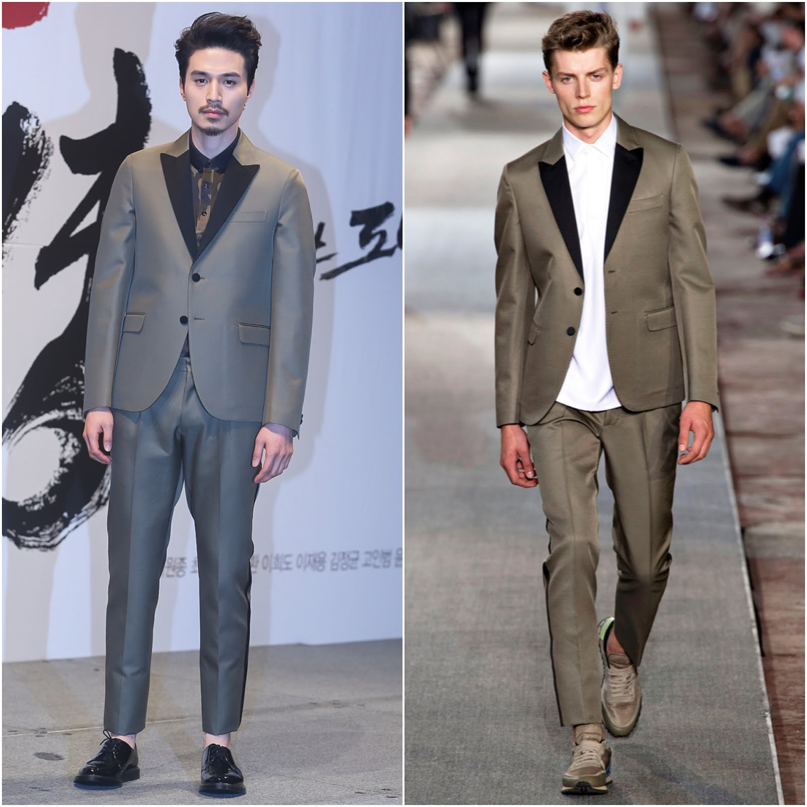 00O00 Menswear Blog Lee Dong Wook 李棟旭 in Valentino Menswear -