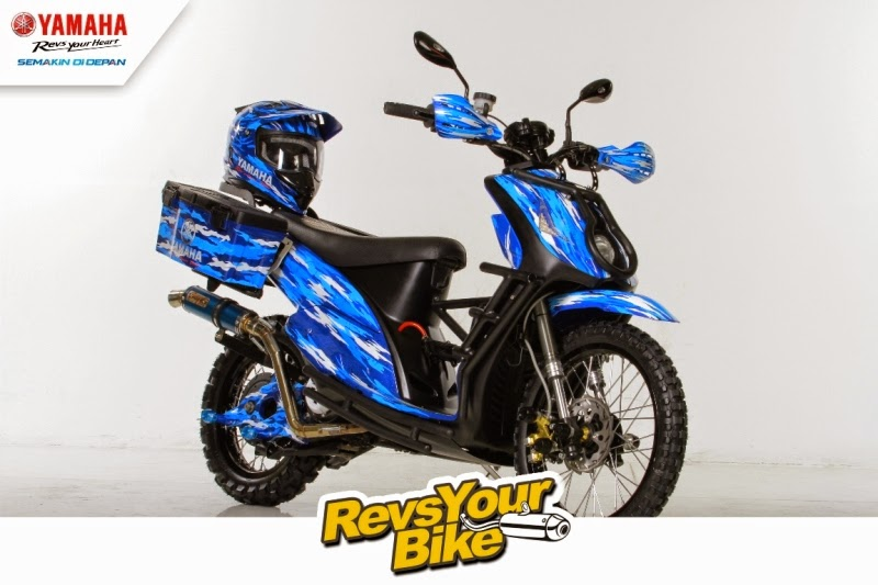 modifikasi Mio J 2009