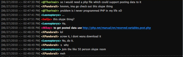 How to integrate irc client in website