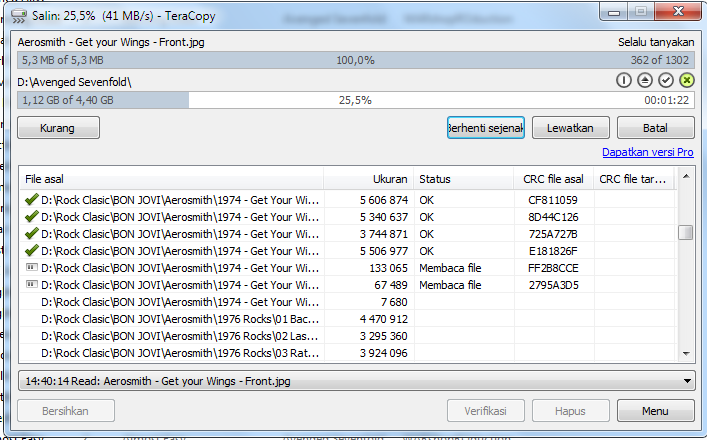 TeraCopy Pro 2.3 Full Version