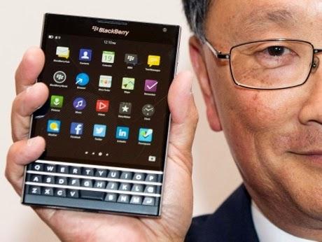Harga dan Spesifikasi Lengkap BlackBerry Passport