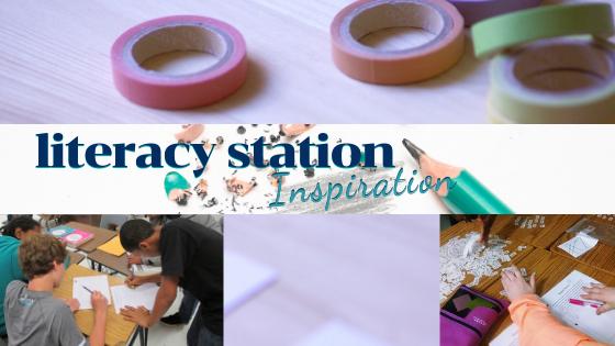Literacy Station Inspiration