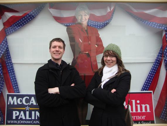 Skagway and Sarah Palin