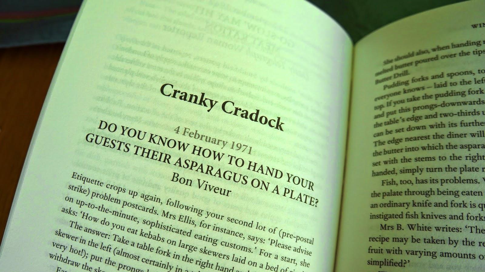 Fanny Cradock Food Writing