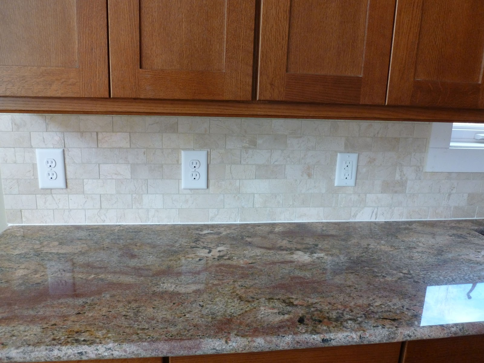 Bob and flora 39 s new house Backsplash tile for kitchen
