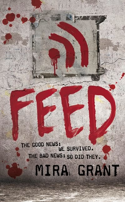 Book cover of Feed (Newflesh trilogy) by Mira Grant