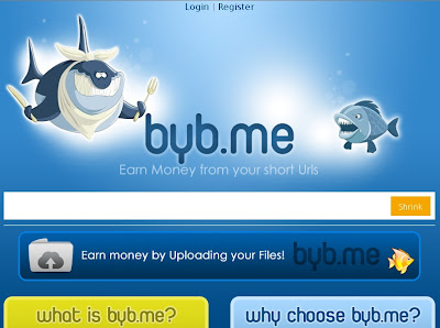 byb.me – Earn Money by URL shortening