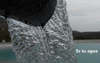 ¡Es tu agua!