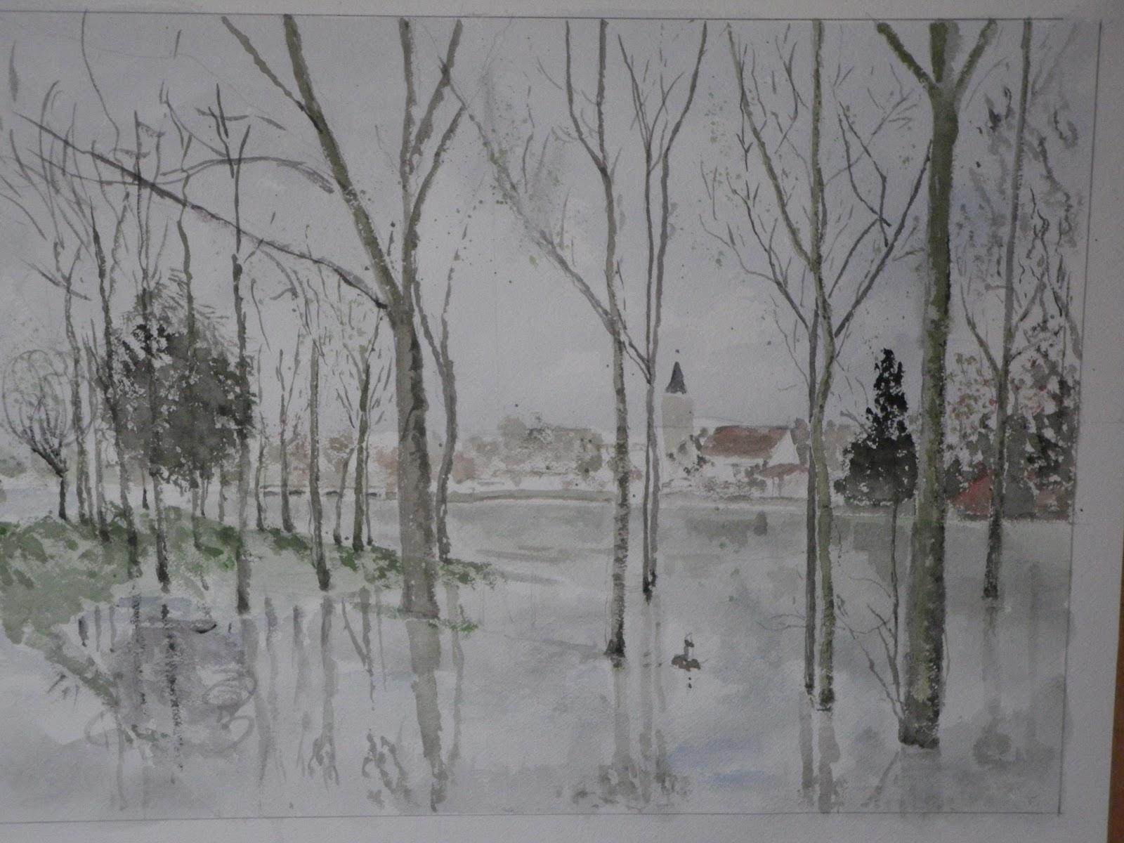 Ecole Paysagiste Lyon intérieur paysage de lyon de 2012   illustralyon - aquarelles de lyon par