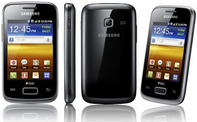 Android QWERTY Mobile Galaxy Y Pro B5510
