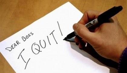 2 Contoh Surat Pengunduran Diri Resign Kerja I QUIT Boss