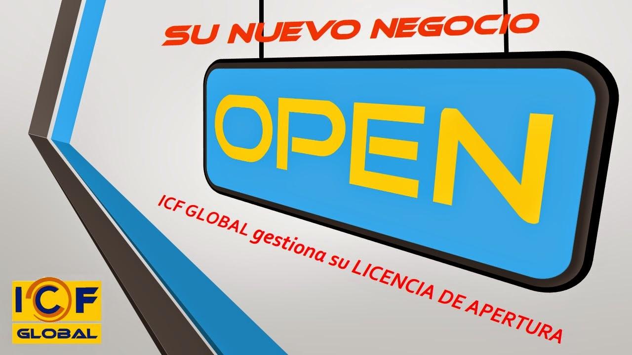 ICF GLOBAL licencias de apertura en Monzon Barbastro Binefar Fraga
