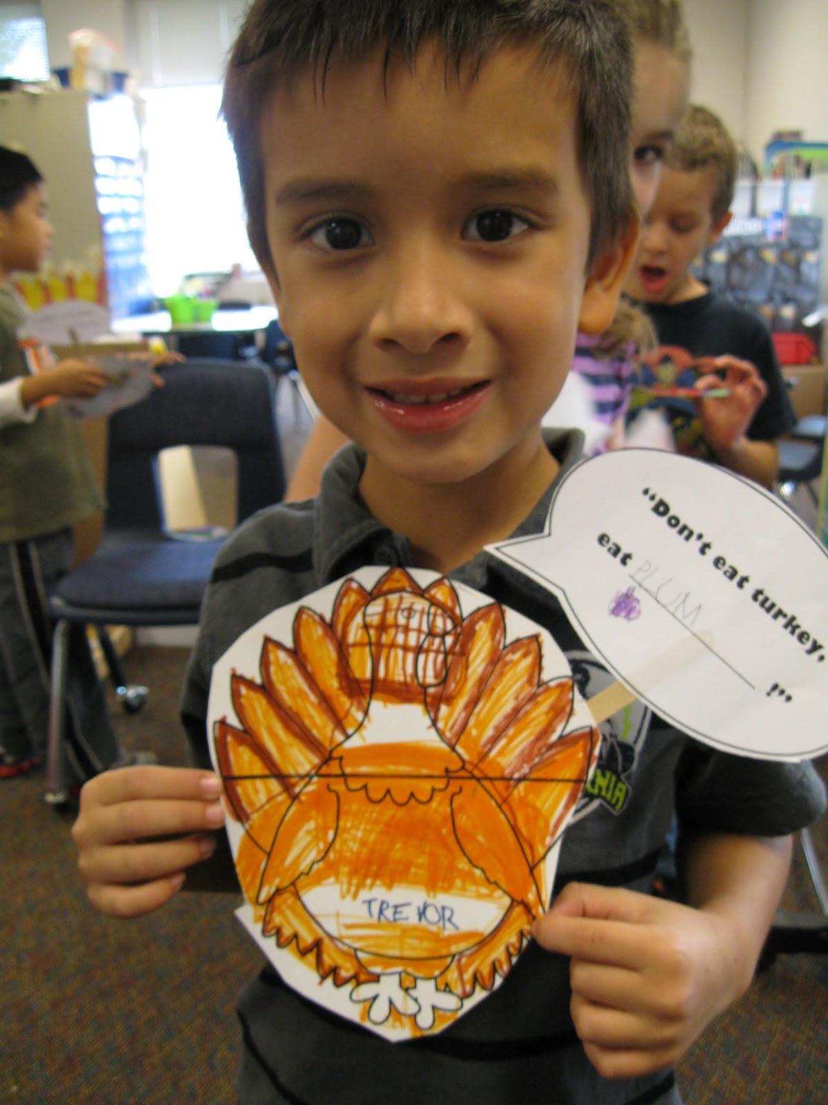Ms. Erickson's Kindergarten Kids!: Turkey's in Disguise!