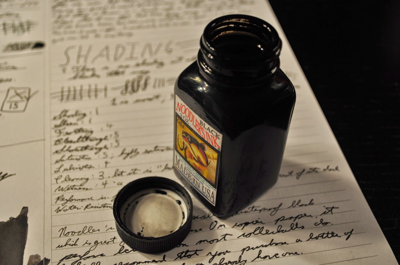 Noodler's Black Review
