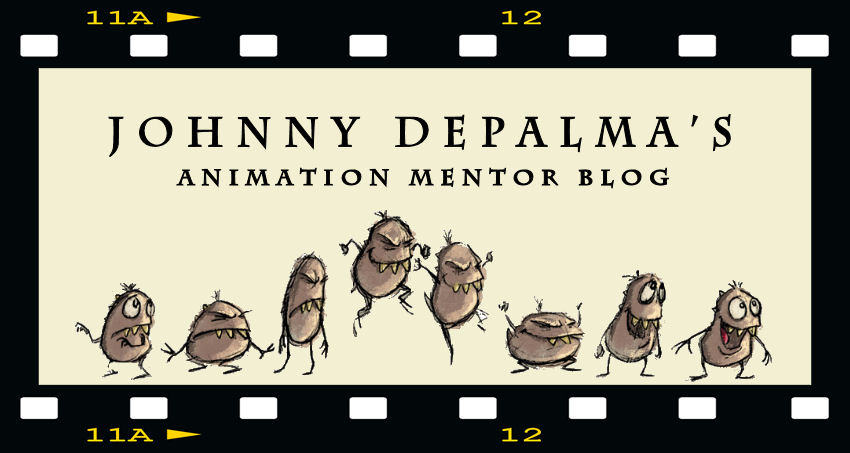 Johnny DePalma's Animation Mentor Blog