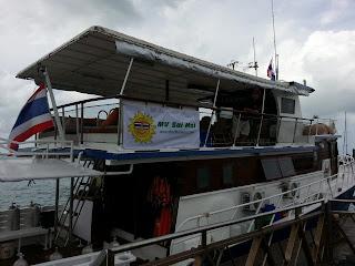 Boat charter in Phuket - MV Sai Mai