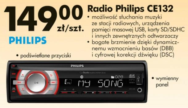 Testujemy Produkty Z Biedronki Radio Samochodowe Philips Ce132 Z