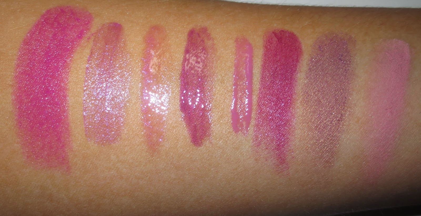 Radiant Orchid Beauty Swatches