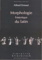 Alfred Ernout, Morfología histórica del latín (español)