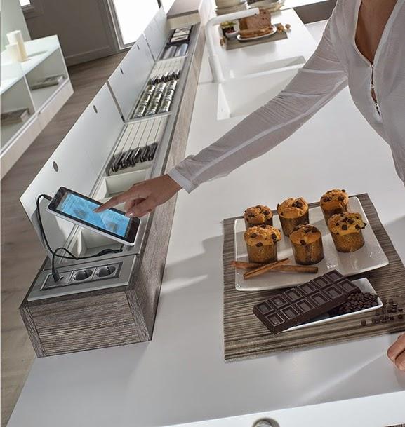 Puertas Para Muebles : Ideas para hacer más cómodo el trabajo en la cocina
