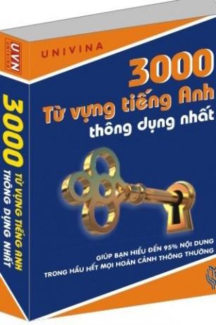 eBook Sách học 3000 từ tiếng anh thông dụng nhất