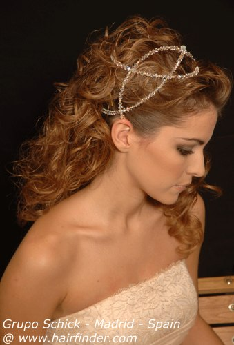 Grecian wedding hair