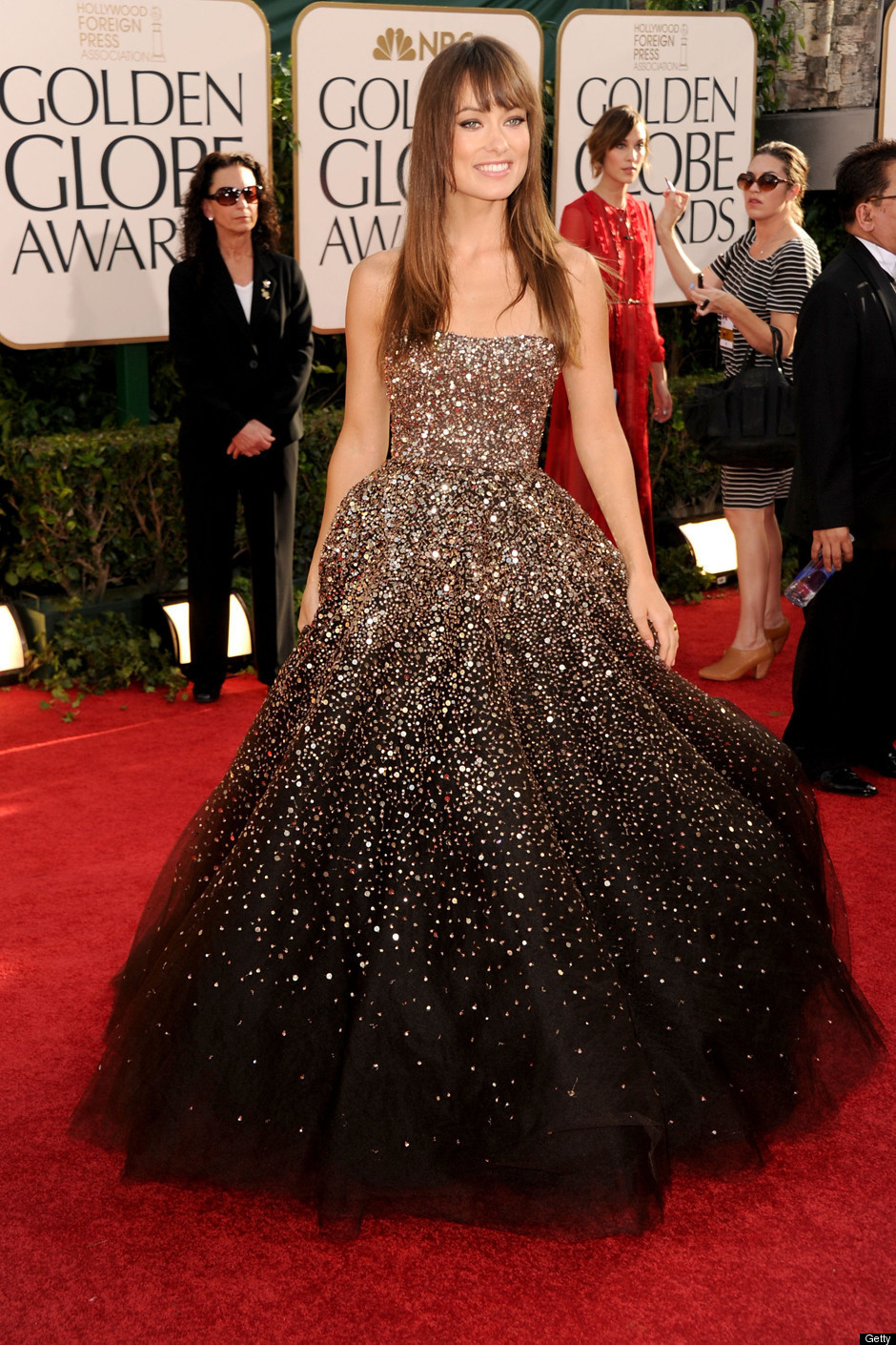 Elf 39 s stilettos the prettiest red carpet gowns of 2011 - Dresses from the red carpet ...